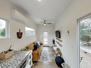 Modern Container Home | Heated Floors | Wraparound Deck & Covered BBQ Area