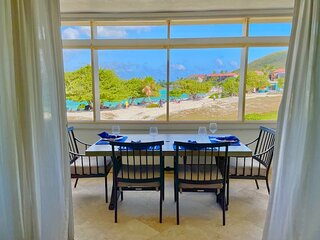Crystal Cove Deluxe Suites on Sapphire Bay Beach