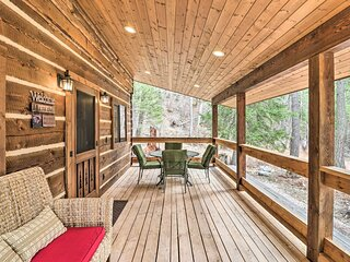 NEW! Reconnect w/ Nature at 'Timber Creek' Cabin!