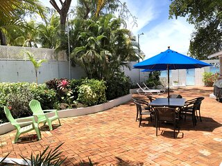 Southwinds Villa is a three bedroom beach front property with a beautiful big in