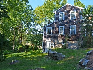 Squam Light: A newly renovated cottage, nestled in the village of Annisquam.