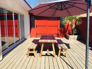 Maison privee 3 chambres 7 Personnes - Bassin dArcachon