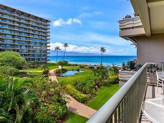 Maui Westside Properties Presents - The Whaler 319  Ocean view 1 bedroom