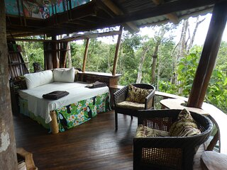 Corcovado Treehouse Sleeps 9 near Puerto Jimenez Remote Beaches