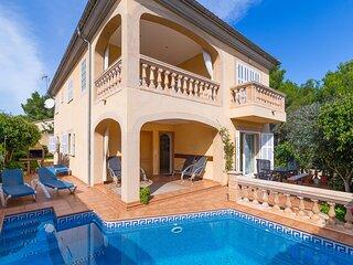 Ramis - Beautiful villa with pool and garden in Son Serra de Marina