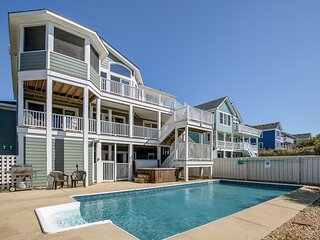 A Change of Pace | 800 ft from the beach | Dog Friendly, Private Pool, Hot Tub |