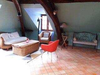 Tour d'Adam by Angers-Loire-Charme:hycentre,logement atypique,terrasse vue uniqu
