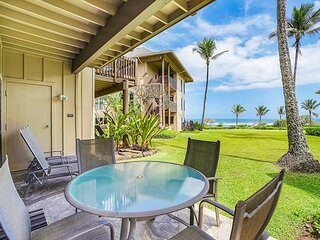 Kaha Lani Resort #114, Ocean View, Steps to Beach, Beautiful Sunrises, Wifi