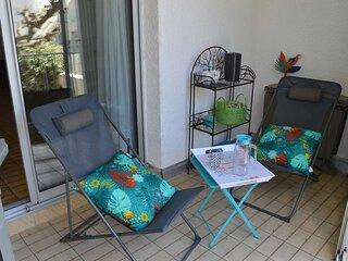 Appt studio cabine  4 couchages LE GRAU DU ROI