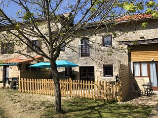 Blacksmiths Cottage in Blanzay - 3 beds