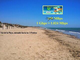 Chalet pareado 'La Pavona' en primera linea de playa en Chipiona