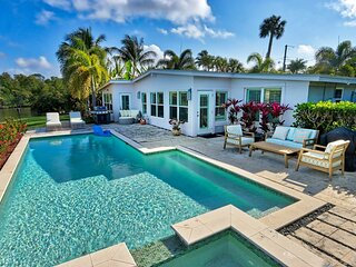 Naples Waterfront Pool Home