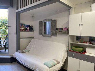Appt Studio mezzanine 4 couchages Sainte-Maxime (83)