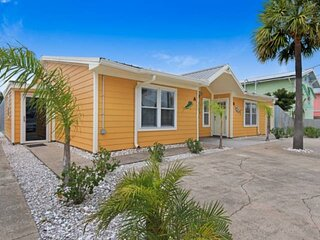 NEW LISTING! 3BR Duplex 2 Blocks from Public Beach Access! (Rent both sides, see