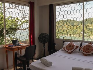 Private room with beautiful view in Taganga