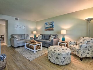 Beachside Getaway STEPS from Flagler Ave!