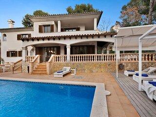 Villa Zafiro, Wifi, Piscina, Barbacoa, Parking, glamour en Portals Nous