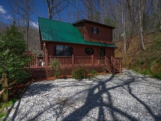 Bear''s Choice Cabin Near Nantahala National Park