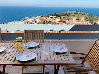 4ANG61 - Magnifique appartement refait à neuf vue mer