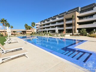 VDE-128 Flamenca Village apartment (2 beds) with pool and sunny balcony