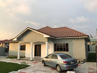 Charming 3-Bed House in Kokrobite