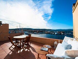 Appartement Vue panoramique sur le port de Saint-Tropez