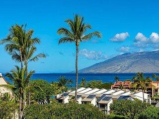 Maui Kamaole #J-211 2Bd Sweeping Ocean Views, Near Kamaole III Beach Sleeps 6