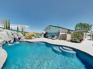 Dream Oasis with Private Pool & Outdoor Kitchen, Home Theater & EV Charger