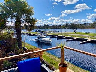 Luxury Riverside Holiday Home