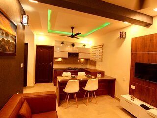 Luxury 3-Bed Serviced Apartment in Trivandrum