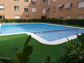 Apartamento con piscina ideal para familias o grupos