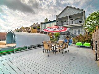 NEW! Waterfront Lake Conroe Home w/ Decks!