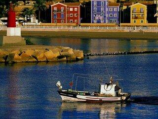 Casa de pescadores en primera linea de playa