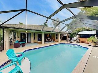 Luxury Coastal Retreat | Office, Lanai, Pool, Alfresco Dining & Tiki Bar