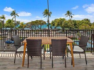 Stunning Ocean Views From Living Room & Lanai Overlooking Kamaole III Beach