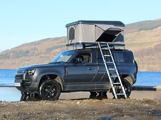 Land Rover Defender with 'RoofNest' Roof Top Tent