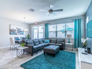 Modern, Professionally Furnished End Unit Town Home