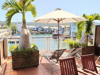 Harry's Waterfront Apartment + Large Patio |  WIFI  |  DSTV