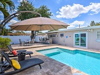NEW! Hollywood Haven w/ Pool: Near Casinos & Coast