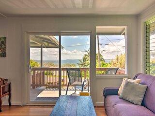 NEW! Hilo Apt: Ocean Views on the Hamakua Coast!