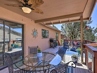 NEW! Tranquil Home w/ Deck in the Heart of Sedona!