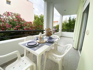 Apartment in Skala Fourkas,100M from the Beach