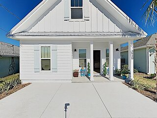 Brand-New Coastal Home   Porch & Yard, 10-Minute Walk to Beach!