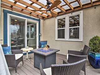 NEW! Colorful CO Springs Retreat, Blocks to Dtwn!