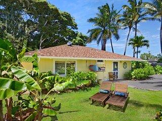 NEW! 'Meli Meli' Kapa'a Cottage: 1 Block to Beach!