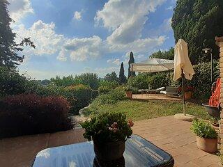 Bilocale a Vestricciano Genna con giardino privato
