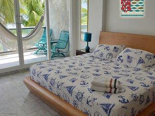 Hermoso apartamento frente al Mar