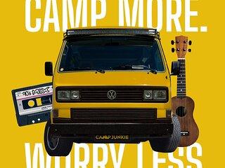Vintage VW Westfalia Camper Vans