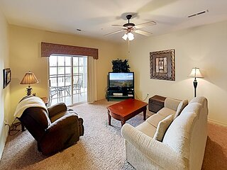 The Links At Thousand Hills Condo | Balcony, 3 TVs & Golf Course Views