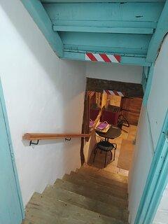 Casa con muchas escaleras!